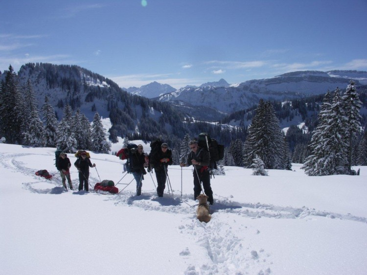 Winterexpedition Allgäu