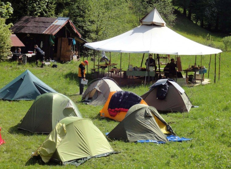 das Wildnis Camp
