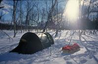 Zelten im schwedischen Sarek